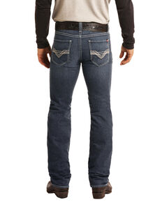 Rock & Roll Denim Men's FR Dark Reflex Revolver Slim Straight Work Jeans , Dark Blue, hi-res