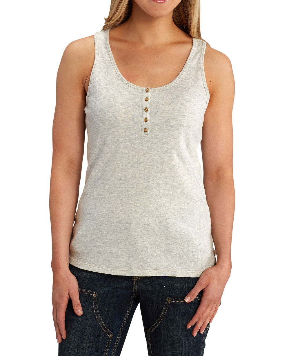 Carhartt Women's Lockhart Tank Top, Lt Brown, hi-res