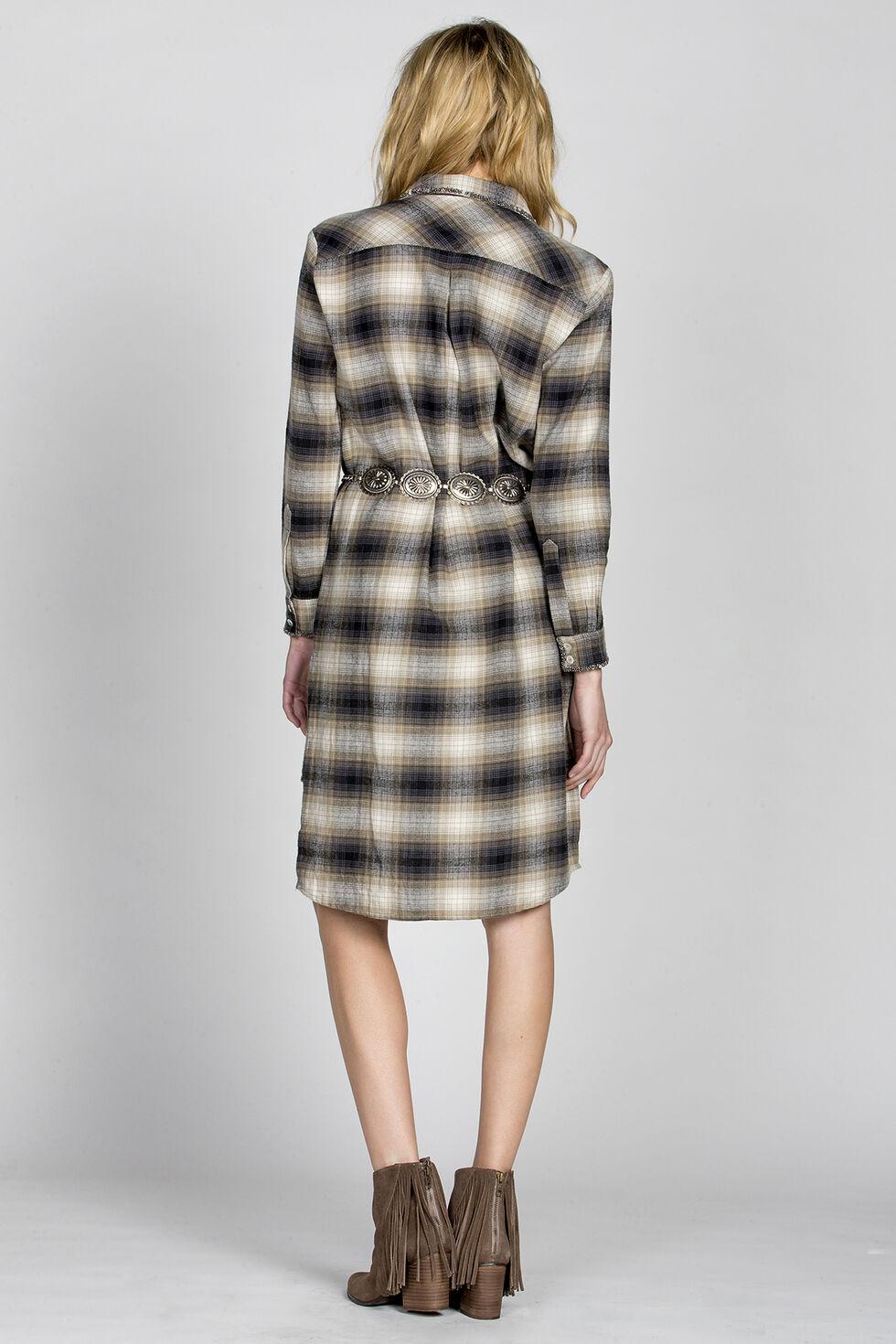 MM Vintage Olive Dream Lover Shirt Dress, Olive, hi-res
