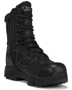 Belleville Men's TR Chrome Waterproof Military Boots - Composite Toe, Black, hi-res