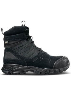 5.11 Tactical Union Waterproof Work Boots - Soft Toe, Black, hi-res