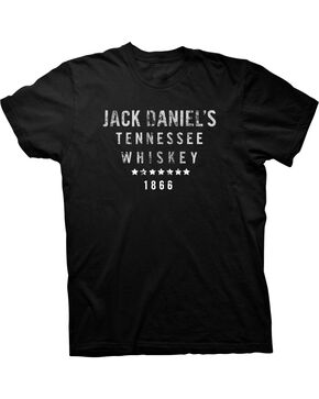Jack Daniel's Men's Black Tennessee Whiskey Tee , Black, hi-res
