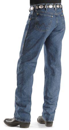 Wrangler Men's 47MWZ Dark Stone Regular Fit Jeans, Dark Stone, hi-res