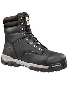 Carhartt Men's Ground Force Waterproof Work Boots - Composite Toe, Black, hi-res