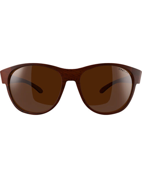 Bex Men's Ryann Polarized Brown/Amber Sunglasses, Brown, hi-res
