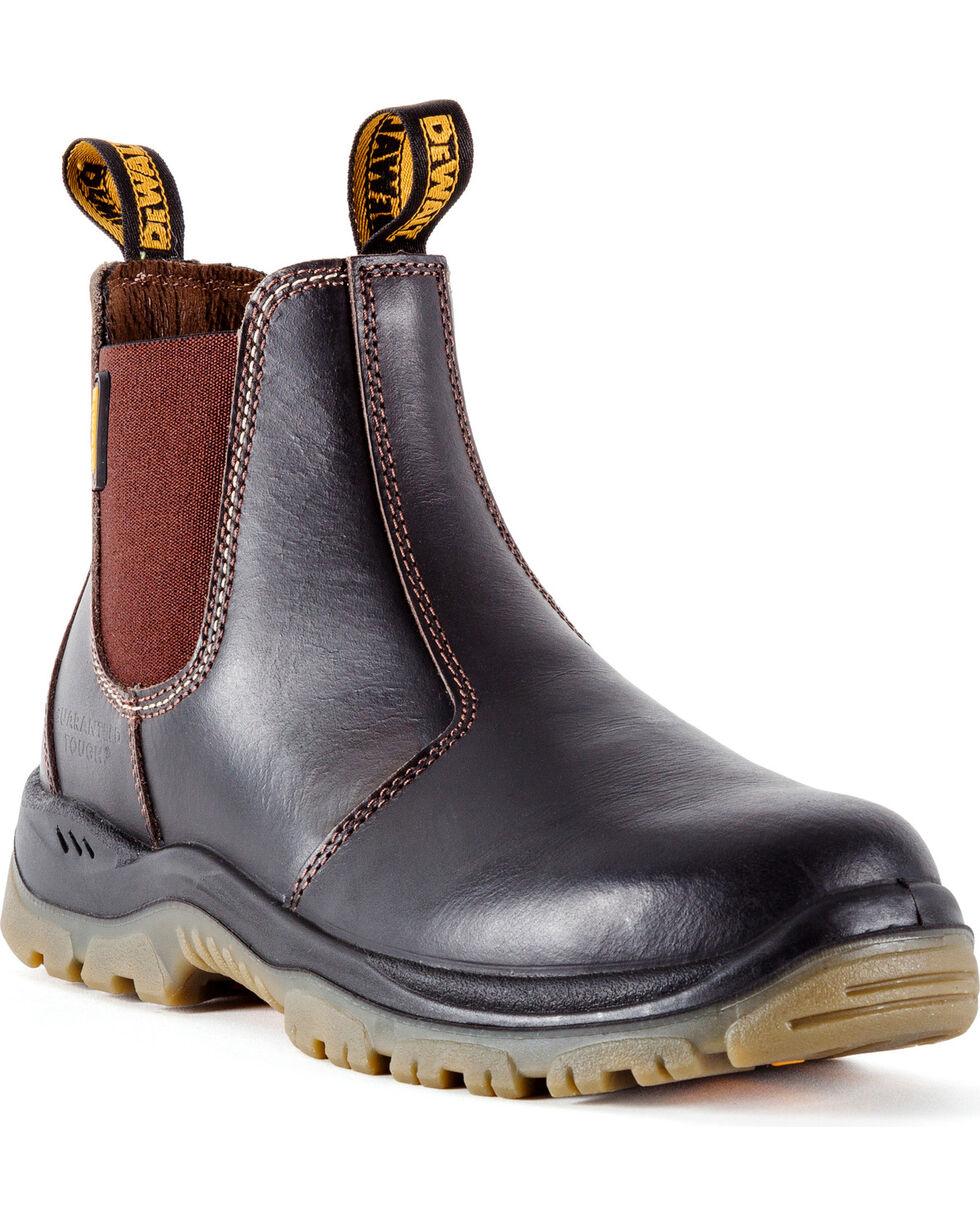 DeWalt Men's Nitrogen Work Boots - Steel Toe, Dark Brown, hi-res