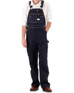 Round House Men's Blue Overalls - Big , Blue, hi-res