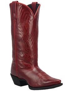 Laredo Women's #TBT Western Boots - Snip Toe, Red, hi-res