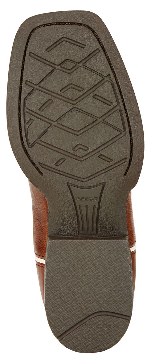 Ariat Youth Boys' Live Wire Cowboy Boots - Square Toe , Wood, hi-res