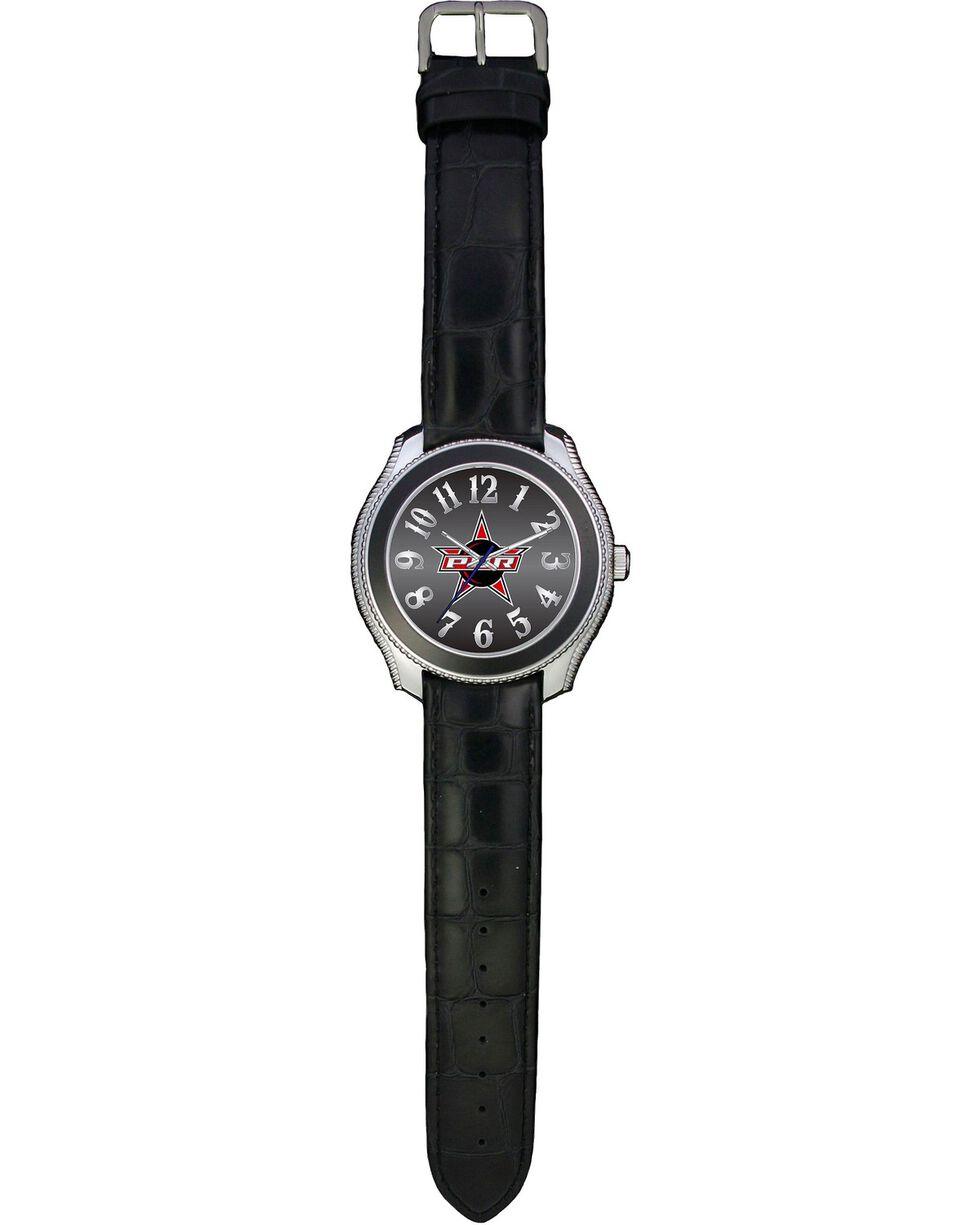 Montana Silversmiths PBR Gator Print Leather Watch, Multi, hi-res