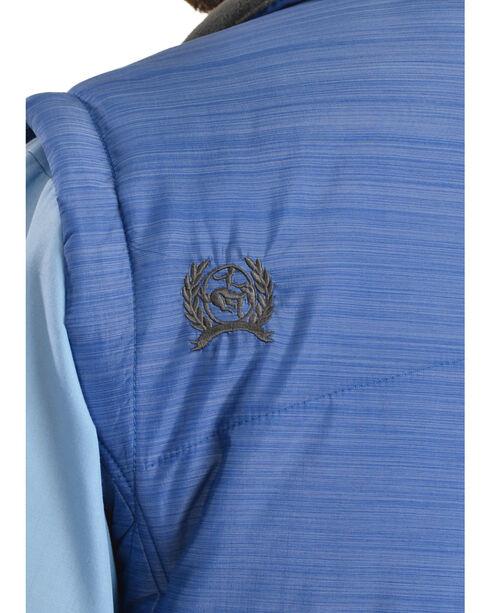 Cinch Men's Lightweight Polyfill Blue Vest, Blue, hi-res