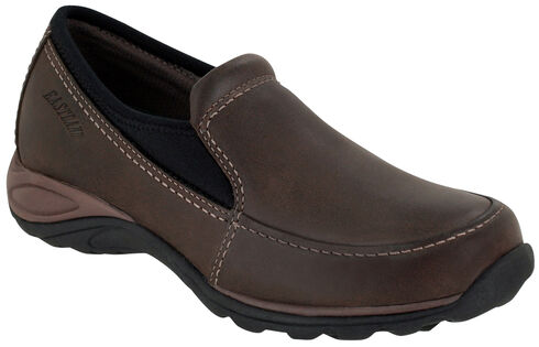 Eastland Women's Brown Sage Sport Slip-Ons , Brown, hi-res