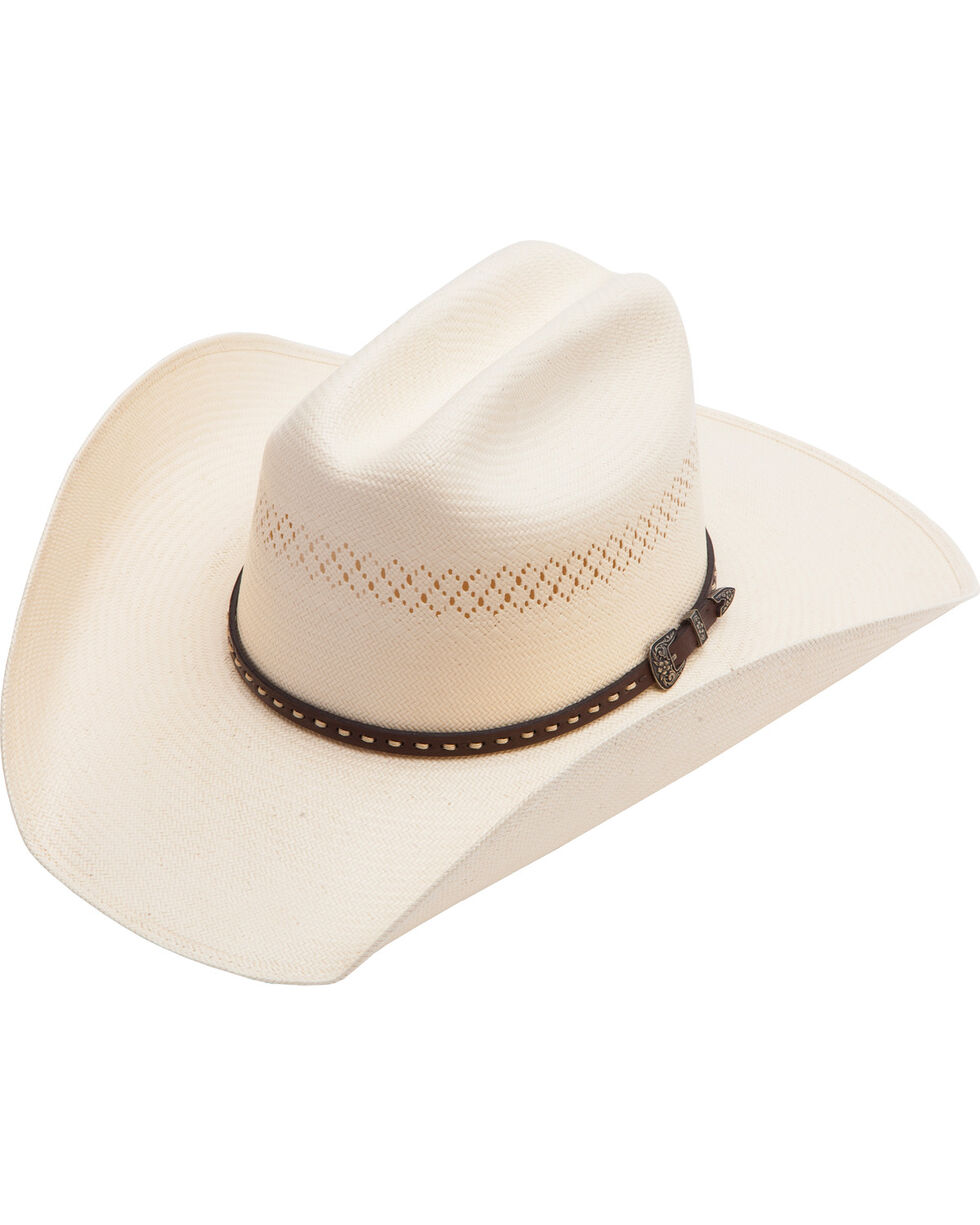 Cody James Men's Vented Straw Hat, Natural, hi-res