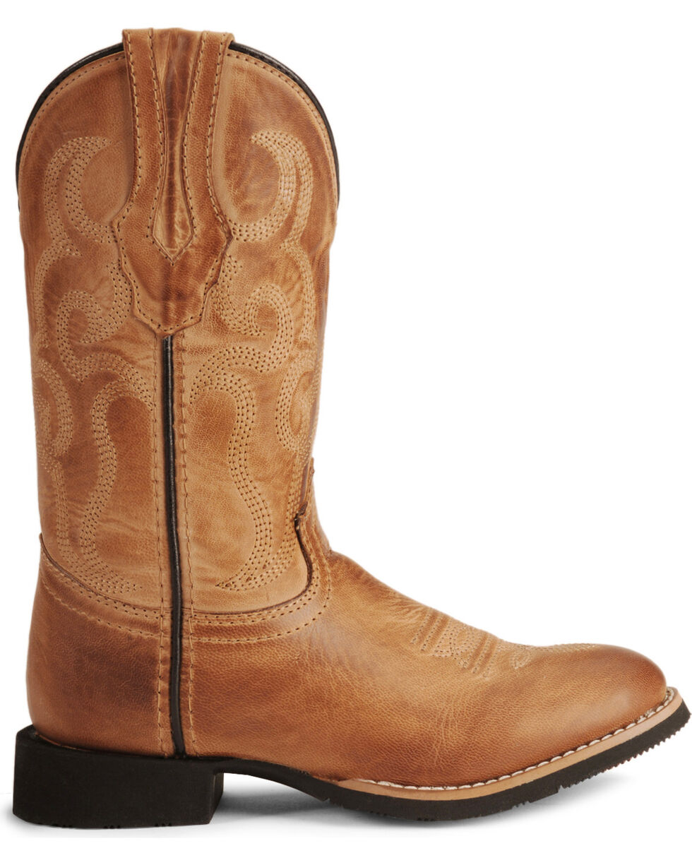 Smoky Mountain Youth Boys' Showdown Cowboy Boots - Round Toe , Bomber, hi-res