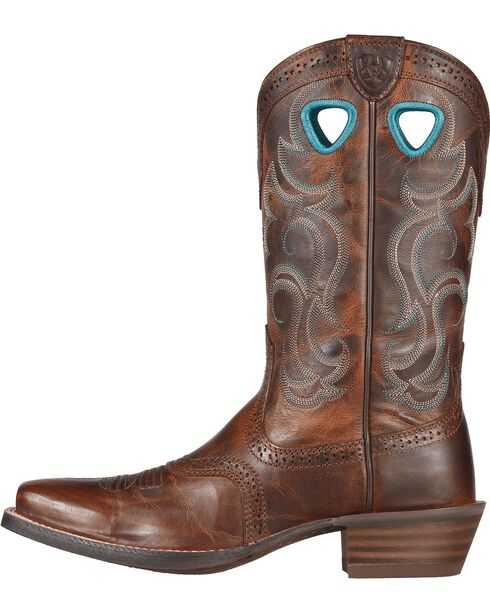 Ariat Rawhide Cowgirl Boots - Square Toe, Brown, hi-res