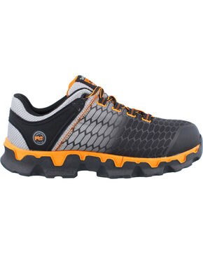 Timberland Men's Powertrain Sport Work Shoes - Alloy Toe, Grey, hi-res