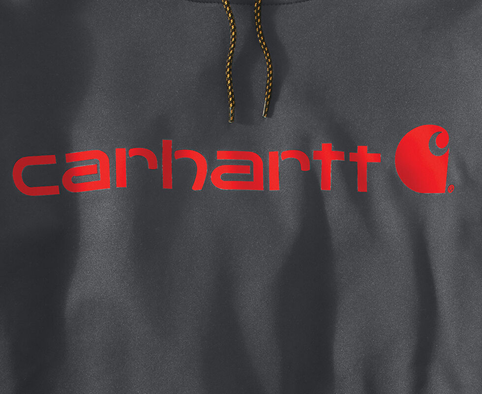 Carhartt Extremes® Force Signature Graphic Hooded Sweatshirt, Charcoal Grey, hi-res