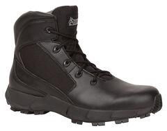 "Rocky Men's Broadhead 6"" Duty Boots, Black, hi-res"