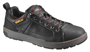 Caterpillar Brode Oxford Work Shoes - Steel Toe, Black, hi-res