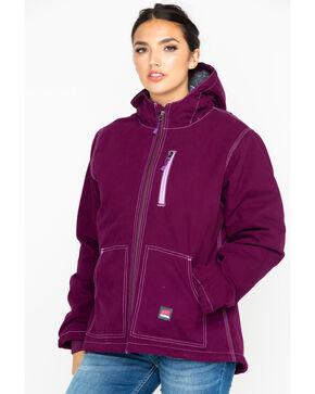 Berne Women's Purple Duck Modern Work Jacket , Purple, hi-res