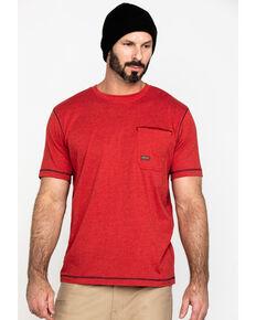 Ariat Men's Red Rebar Workman Technician Graphic Work T-Shirt , Red, hi-res