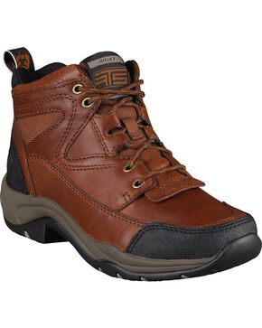 Ariat Women's Sunshine Terrain Boots - Round Toe, Brown, hi-res