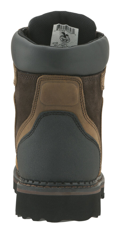 "Georgia Brookville Waterproof 6"" Work Boots, Dark Brown, hi-res"