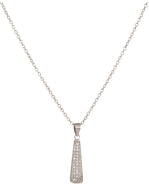 Montana Silversmiths Beams of Star Lights Necklace, Silver, hi-res