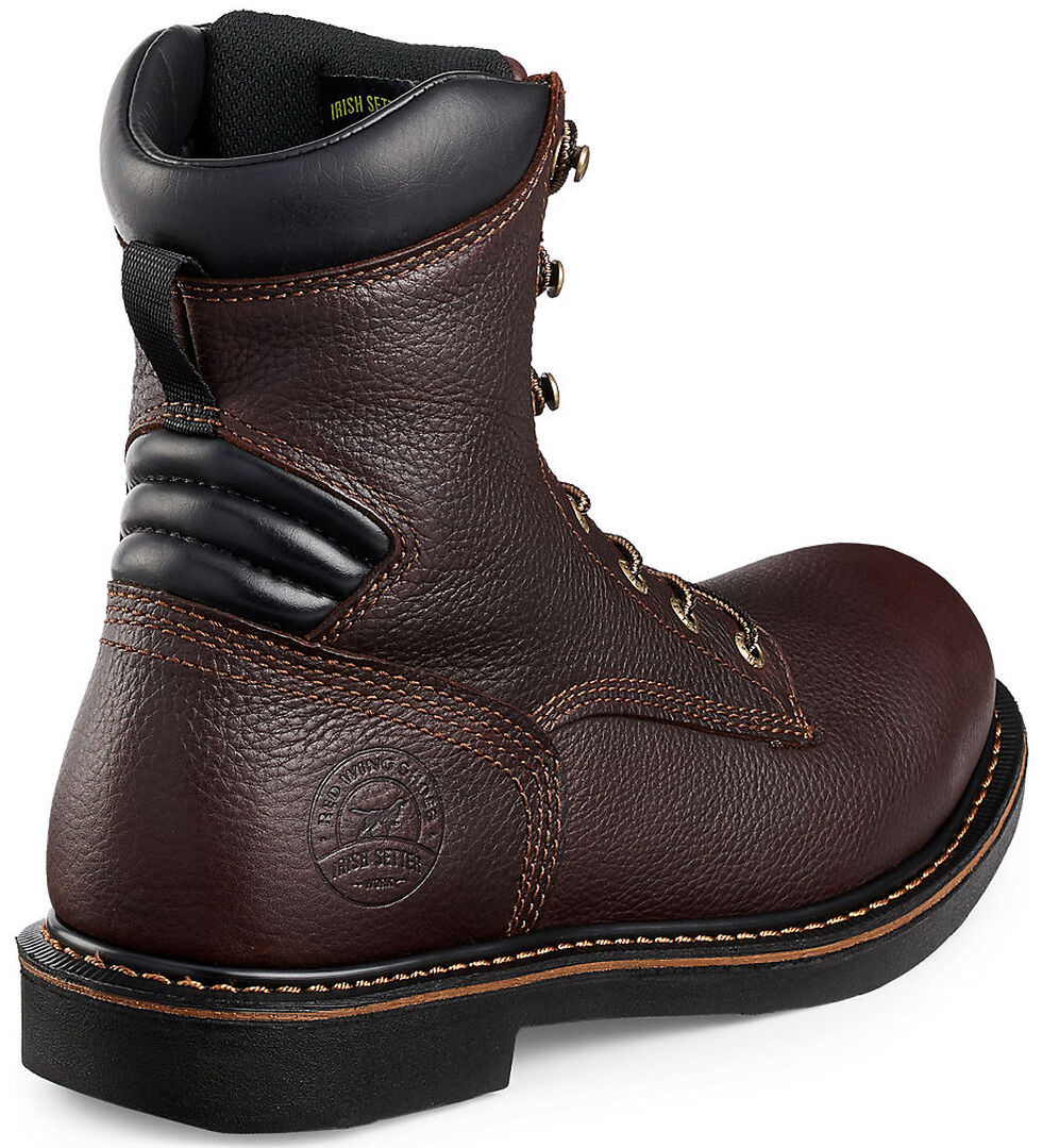 Irish Setter by Red Wing Shoes Men's Farmington EH Work Boots - Aluminum Toe , Brown, hi-res