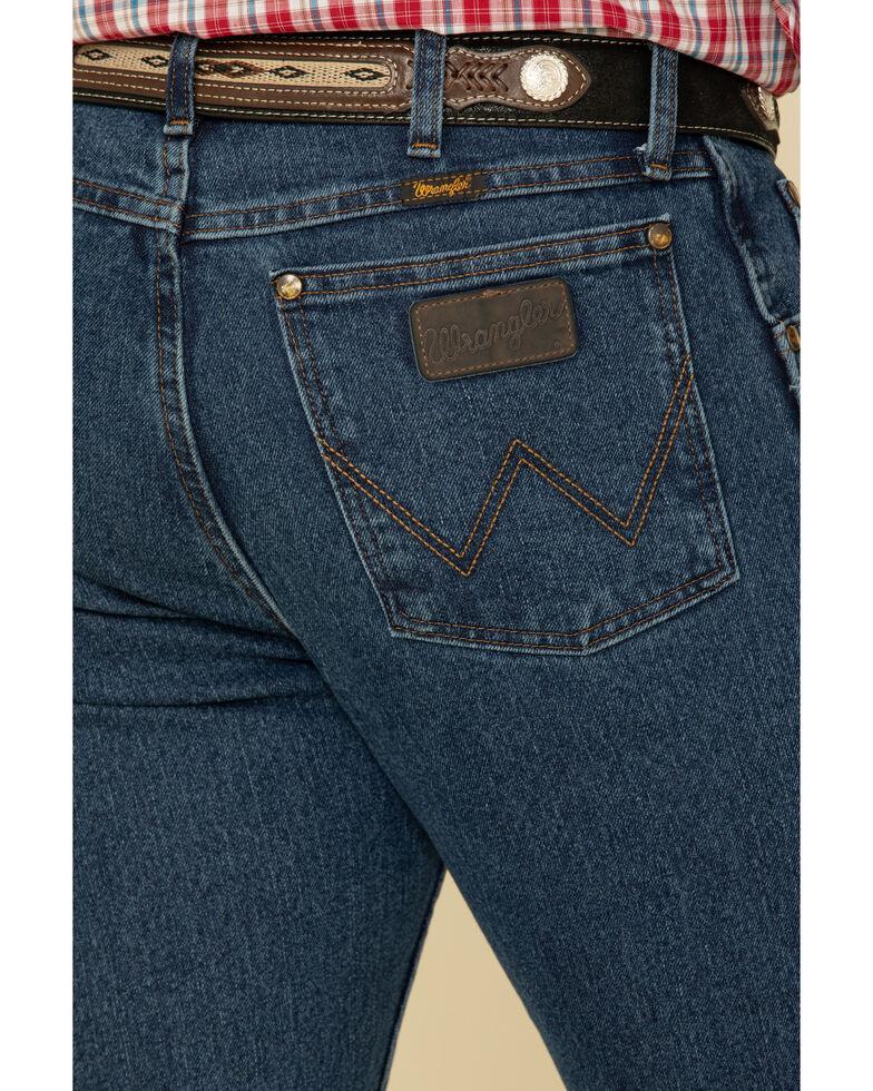 Wrangler Men's Premium Performance Advanced Comfort Mid Stone Jeans, Med Stone, hi-res