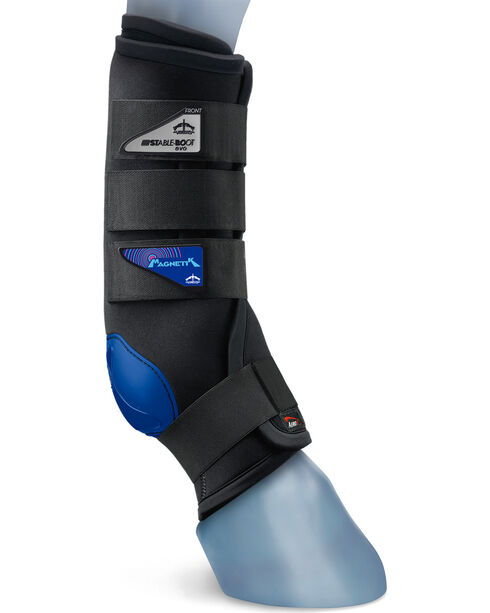 Veredus Magnetik Stable Boot Rear, Black, hi-res
