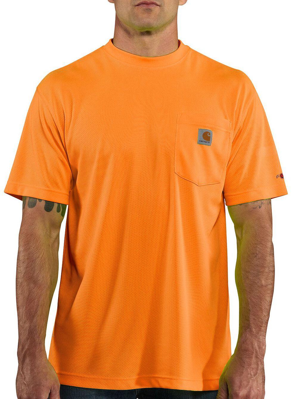 Carhartt Force Color-Enhanced T-Shirt - Big & Tall, Orange, hi-res