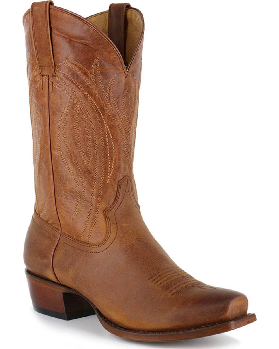 Cody James Men's Hombre Square Toe Western Boots - Square Toe, Tan, hi-res