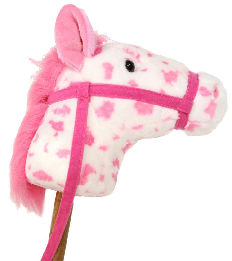 Aurora Giddy-Up Stick Horse, Pink, hi-res