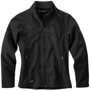 Dri Duck Women's Contour Soft Shell Jackets - Plus Size, Black, hi-res