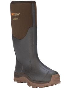 Dryshod Men's HI Haymaker Hard Working Farm Boots, Brown, hi-res