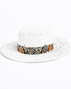 Atwood Hat Co. Men's 5X White Chaparral Wool Western Hat, White, hi-res