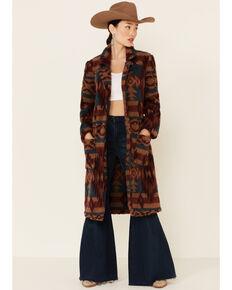 Ariat Women's Katherine Aztec Print Duster Coat , Multi, hi-res