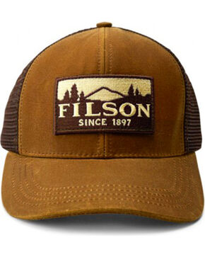 Filson Men's Logger Mesh Cap, Tan, hi-res