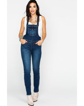 Idyllwind Women's Yes Ma'am Overalls , Blue, hi-res