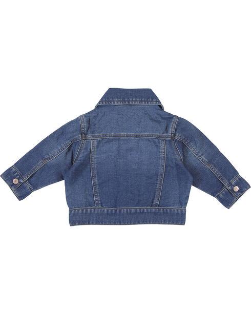 Wrangler Infant/Toddler Long Sleeve Classic Denim Jacket, Indigo, hi-res