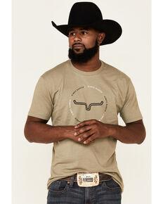 Kimes Ranch Olive Circular Repeat Logo Short Sleeve T-Shirt , Olive, hi-res