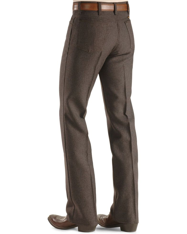 Wrangler Wrancher Dress Jeans , Hthr Brown, hi-res