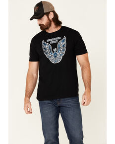 Moonshine Spirit Men's Firebird Graphic Short Sleeve T-Shirt , Black, hi-res