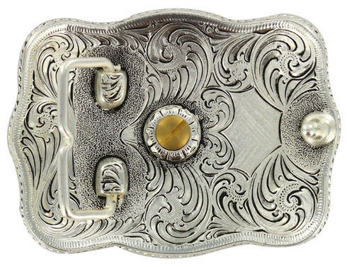 Cody James Men's Rectangular Louisiana Belt Buckle, Multi, hi-res