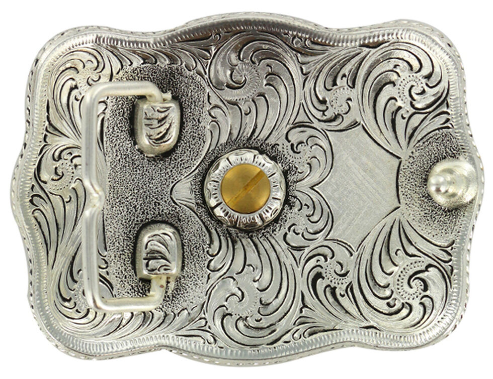 Cody James Men's Rectangular Louisiana Belt Buckle, Multi, hi-res