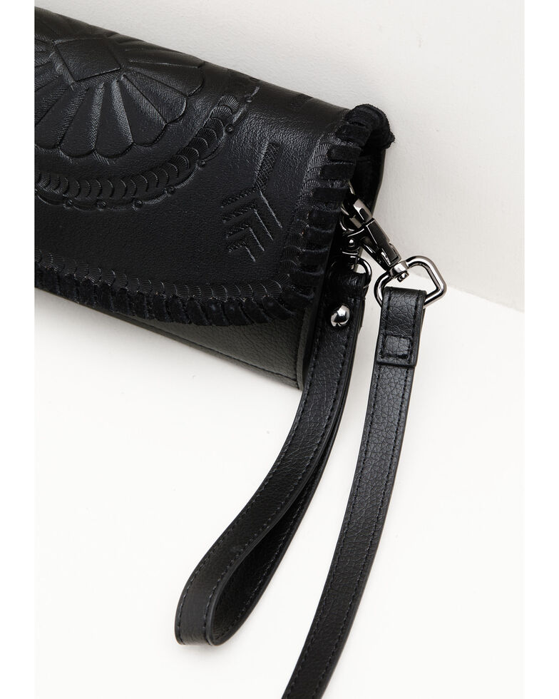 Idyllwind Women's Black What You Need Concho Wallet, Black, hi-res