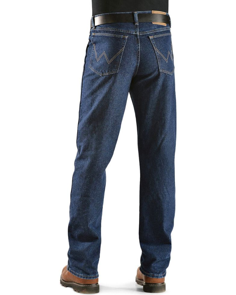 """Wrangler Jeans - Rugged Wear Relaxed Fit - Big. 44"""" to 54"""" Waist, Ant Navy, hi-res"""