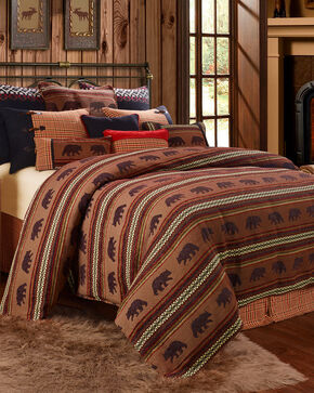 HiEnd Accents Bayfield Bear Twin Duvet, Multi, hi-res