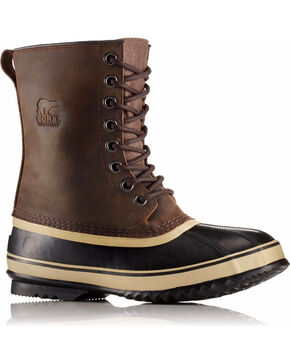 Sorel Men's Brown 1964 Premium T Boots - Round Toe , Brown, hi-res